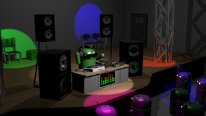 DJ Android by PeturPetur