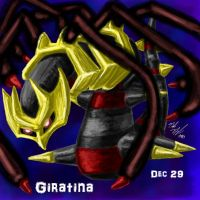 POKEDDEX Challenge - Dec 29 GIRATINA by afrolady114