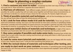 Steps In Planning A Cosplay Costume by ShinjusWorkshop