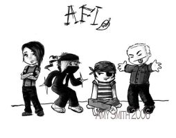 AFI Chibis by willdrawforfood