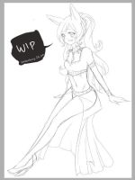 Commission Wip by Miivei