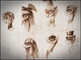 mlp Johnny Depp roles by VileRaven