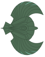 TOS Romulan Insignia ship by JohnnyMuffintop