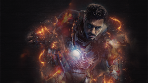 Iron man Wallpaper by zhiken