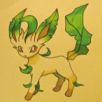 Leafeon by Inquisitive-Soul