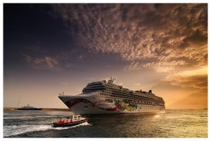 Norwegian Jewel by KirlianCamera