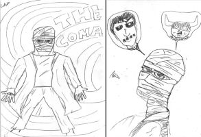 COMA fan art from my students by javierhernandez
