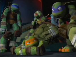 TMNT 2012 - Got hit by a BUS?! by MarionetteJ2X