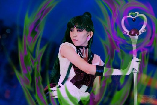 Sailor Pluto Power UP by miwitch