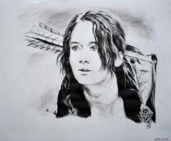 Jennifer Lawrence - Katniss Everdeen by Bubuka812
