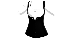 MMD Corset + Blouse Commission DL by chickid11