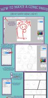 Comic tutorial pt. 1 by SpongeMuffin