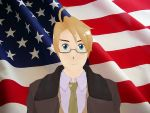 MMD Hetalia Model:America by Ash080897