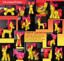 Sculpted Applebloom by AleximusPrime