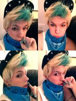 No Mercy - Zelo (B.A.P) Wig Test by fadingforest