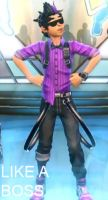 Glitch from Dance Central 3 LIKE A BOSS by AeroxVentusxYuni