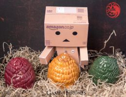 Danbo meets Game of thrones. by Miss-evill