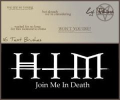 Join Me In Death by NemesisDivina666