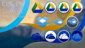 Cloud Services Yosemite Pack by mp03095