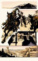 Outlaw Territories Anthology by johjames