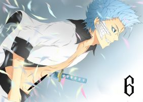 Grimmjow Jaegerjaques by YungMoneyChow