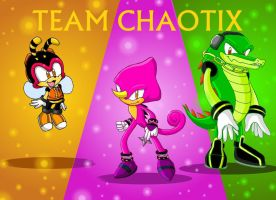 Team Chaotix by Night-the-wolf