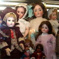 Antique Dolls 2 by Falln-Stock
