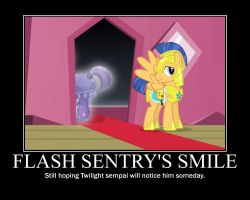 Flash Sentry Demotivational by T-mack56
