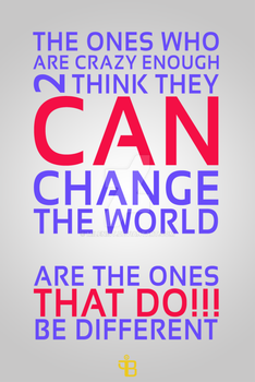 Change The World !!! ( TYB+ ) by Milenist
