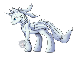 Reshiram colt by ErinKarsath