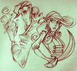 Monkey Island sketch by The-fishy-one