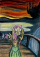 Silent Scream Original by Anthropony