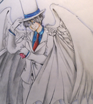 Another Kaitou kid drawing by Itacat