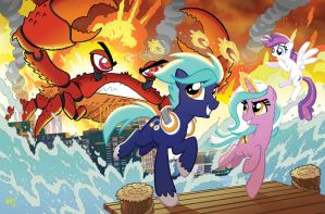 Bronycon 2014 Program Cover by TonyFleecs