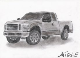 Ford 350 by aiglemkf