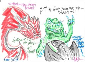2014: Good year for the Dragons by Samuraiox