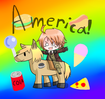 IN AMERICA.. by vickithehedgehog