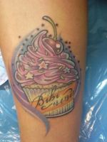 cake tattoo by Haretattoo