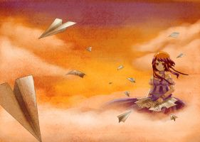 AT: Princess and Paperplanes by manisaurus