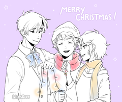 Merry Christmas! by lilieskies