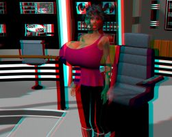 Breast Expansion Anaglyph 3D Still Images by grycat20