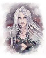 Sephiroth commission by Luthie13