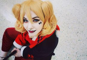 Bedtime! Harley Quinn cosplay by Lxsketch