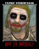 Ulfric Stormcloak as Joker by B-l-u-e-y
