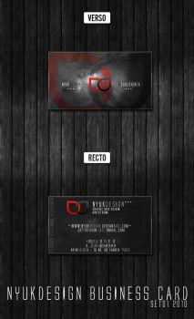 Business Card by nyukdesign