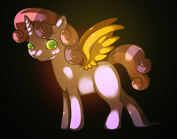 Sweetie Belle and Scootaloo by cappydarn