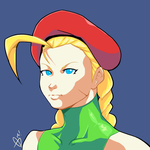 $15 Headshot Commission Example- Cammy by DreddStar
