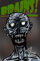 The Undead Zombie by FreakyComics