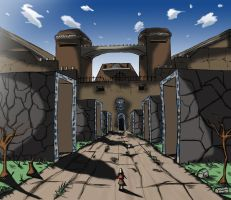 Ancient ruins by renzus