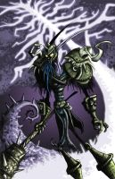 Night Elf by BunnyBennett